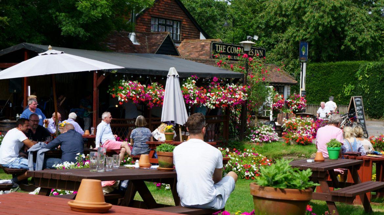 British Summer Beer Garden